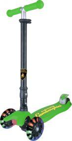 "Самокат ""Lamborghini"" 3-х колесный,руль телескоп.,макс.нагрузка 40кг"