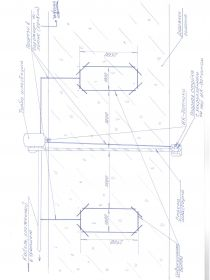 Схема расположения индукционных петель