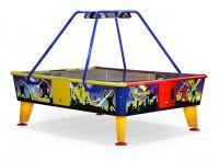 Аэрохоккей 4 Monsters 238 cm x 183 cm, купюроприемник