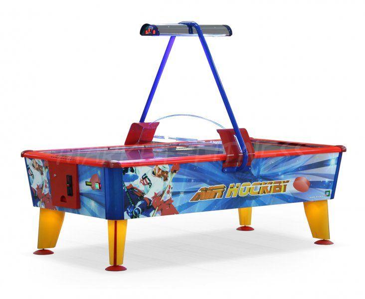 Аэрохоккей Ice Fire Gold 6 ф купюроприемник