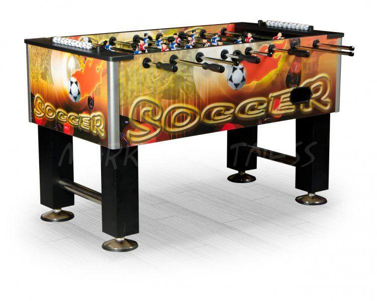 Настольный футбол кикер Roma II 140x76x87 см, цветной