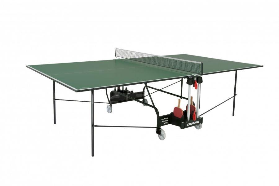 Теннисный стол DONIC INDOOR ROLLER 400 GREEN