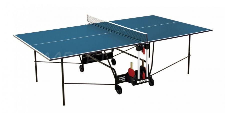 Теннисный стол DONIC INDOOR ROLLER 400 BLUE
