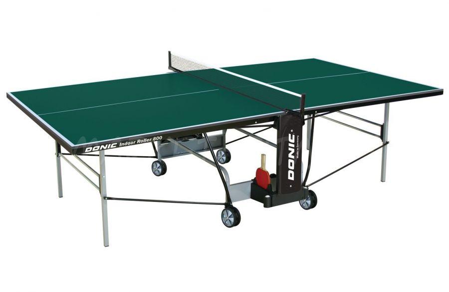 Теннисный стол DONIC INDOOR ROLLER 800 GREEN