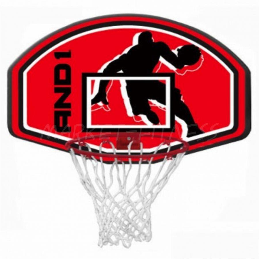 Баскетбольный щит с кольцом AND1