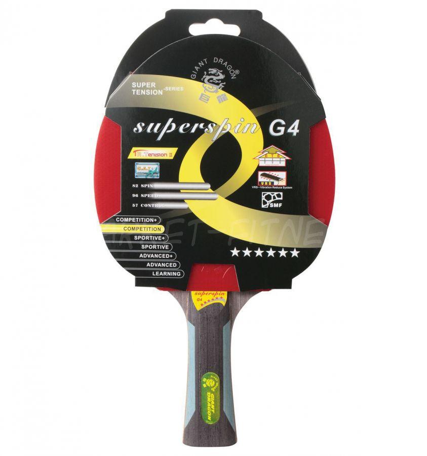 Ракетка для настольного тенниса GIANT DRAGON SuperSpin
