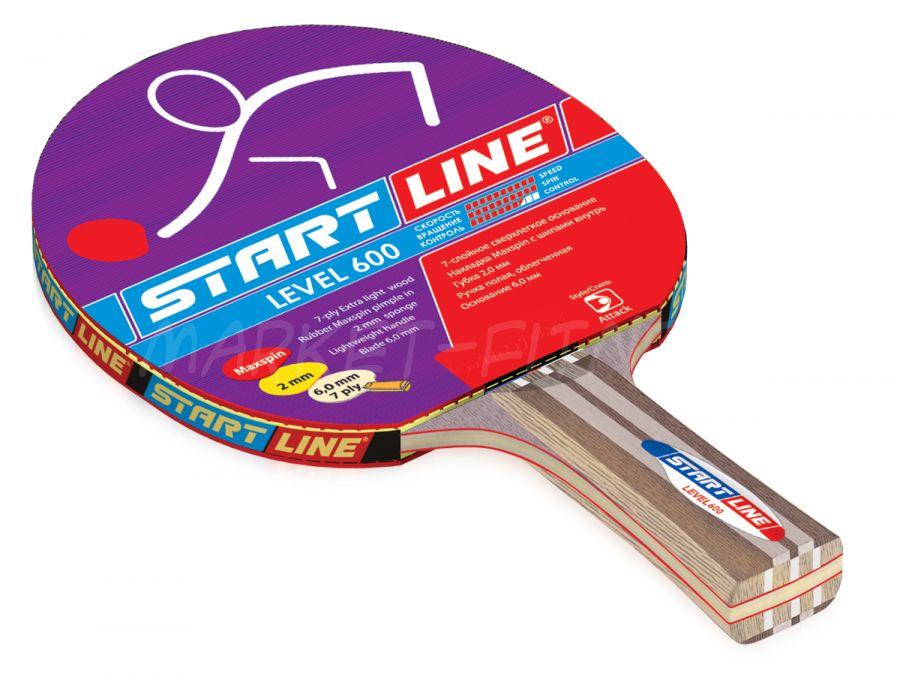 Ракетка Start Line Level 600 (коническая)