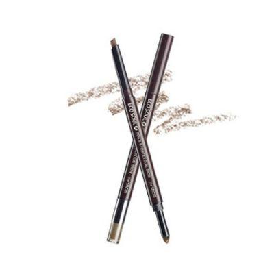 Корейский карандаш-пудра для бровей SAEM Eco Soul Pencil & Powder Dual Brow в ассортименте