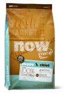 NOW FRESH Large Breed Puppy Recipe Беззерновой корм для щенков крупных пород с индейкой, уткой и овощами (11,35 кг)