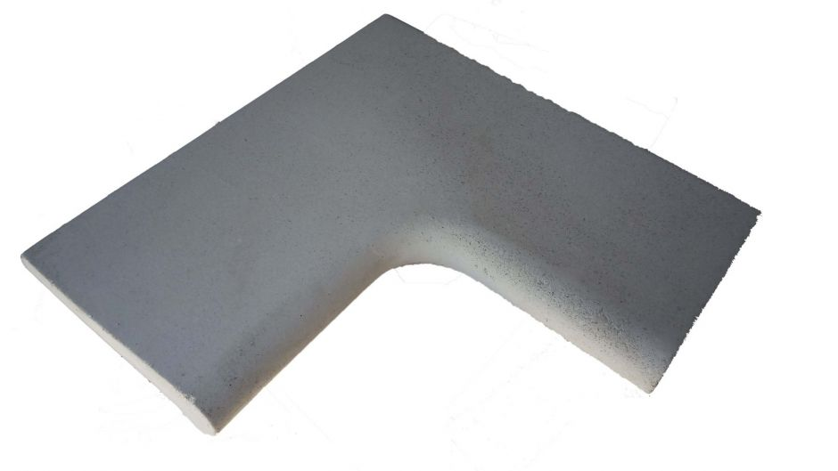 Копинговый (бортовой) камень угол 90 градусов