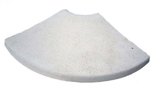 Копинговый (бортовой) радиусный камень
