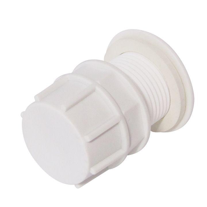 Отвод из бака в сборе 1 1/4 пластик