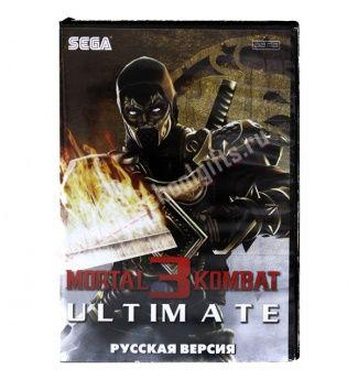 "Sega картридж MORTAL KOMBAT 3 ""ULTIMATE"""