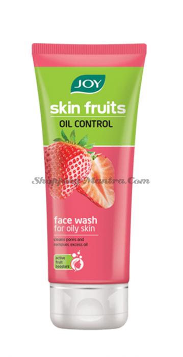 Гель для умывания для контроля жирности кожи Фрукты Клубника Джой | Joy Cosmetics Skin Fruits Oil Control Face Wash