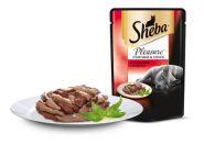 Sheba Pleasure Ломтики в соусе из говядины и ягненка (85 г)