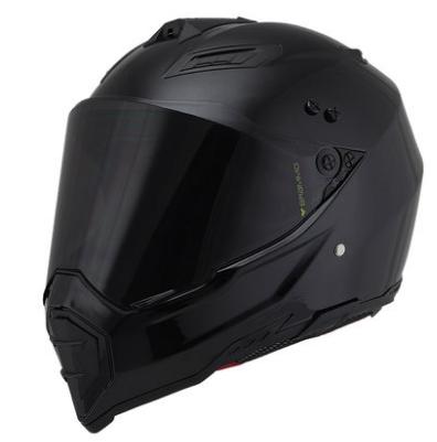 Мотошлем (интеграл/кроссовый) BRAMMO Black