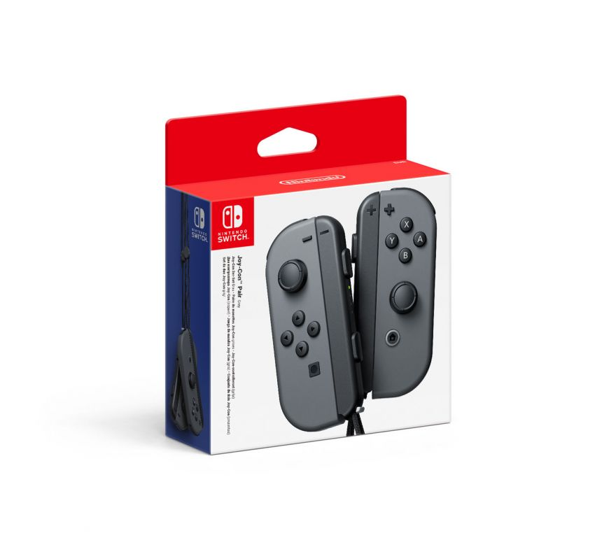 Nintendo Joy-Con controllers Grey (nintendo switch)