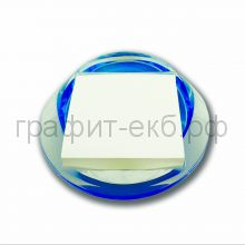 Куб 7.5х7.5 100л.прозрачно-голубой акрил Lamark DA0557-TB