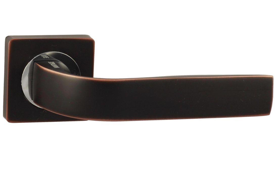 Дверные Ручки V01BL черный с патиной