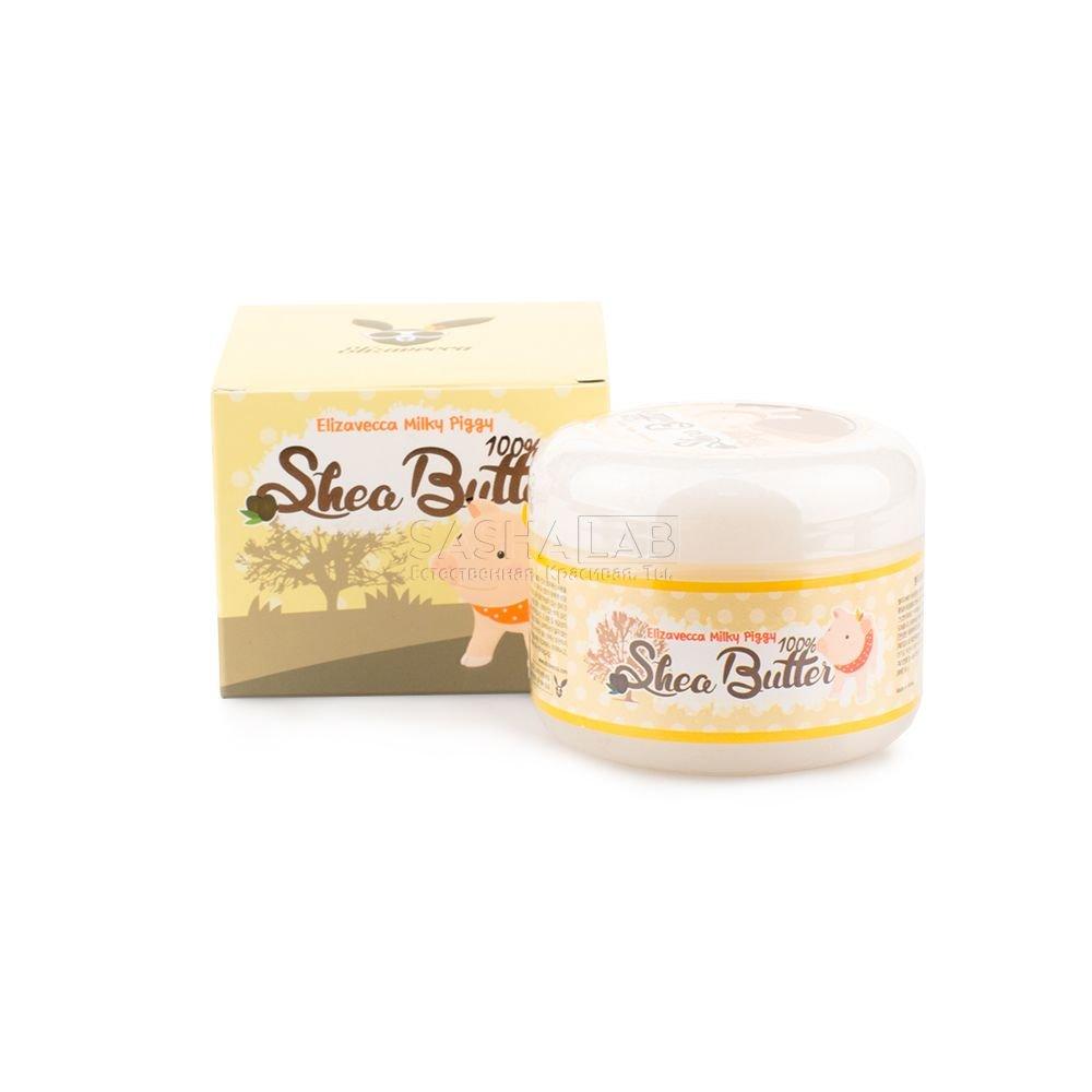 Корейский крем-бальзам с маслом ши ELIZAVECCA Milky Piggy 100% Shea Butter