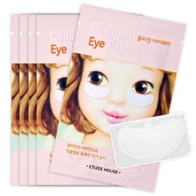 Корейские патчи для кожи вокруг глаз ETUDE HOUSE Collagen Eye Patch AD