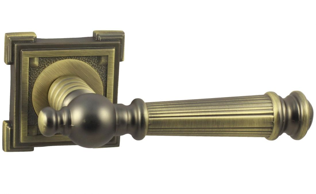 Дверные Ручки V15M матовая бронза