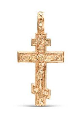 Позолоченный православный крест (арт. 788001)