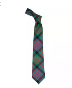 Истинно шотландский клетчатый галстук 100% шерсть , расцветка клан Макдональд (древний вариант) MACDONALD CLAN