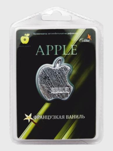 """Ароматизатор в дефлектор """"Apple"""" Французская ваниль"""