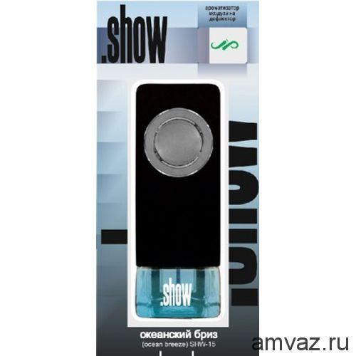 """Ароматизатор в дефлектор """"Show"""" Океанский бриз"""
