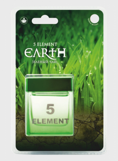 "Ароматизатор на панель банка ""5 Element Earth"" Зеленый чай"