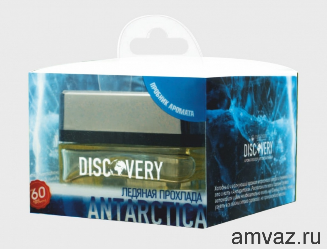 "Ароматизатор на панель банка ""Discovery Antarctica"" Ледяная прохлада"