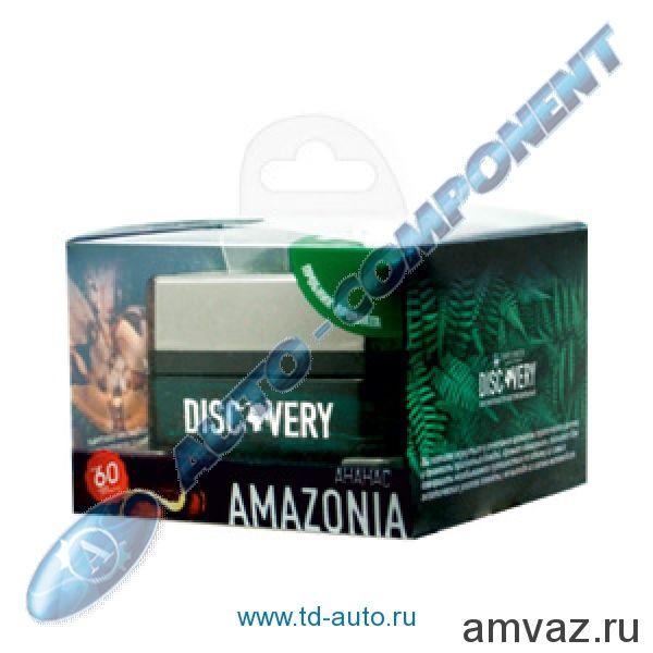 """Ароматизатор на панель банка """"Discovery Amazonia"""" Ананас"""