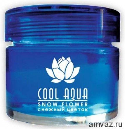 """Ароматизатор на панель банка """"Cool Aqua"""" Снежный цветок"""