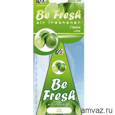 "Ароматизатор подвесной картонный ""Be Fresh"" Лайм"