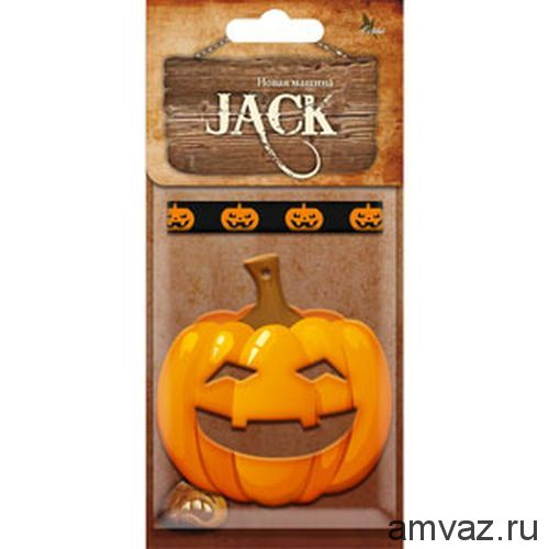 """Ароматизатор подвесной картонный """"Jack"""" Новая машина"""