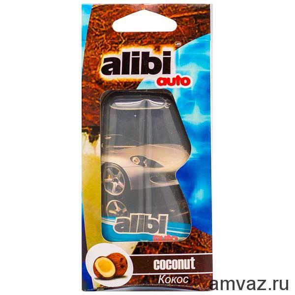 "Ароматизатор подвесной ""Alibi Auto"" Кокос"