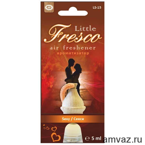 """Ароматизатор подвесной бочонок """"Little Fresco"""" Секси"""