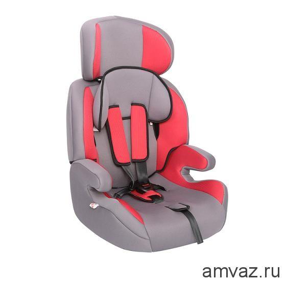 """Детское автомобильное кресло Zlatek - """"Fregat"""" коричневый, группа  1/2/3"""