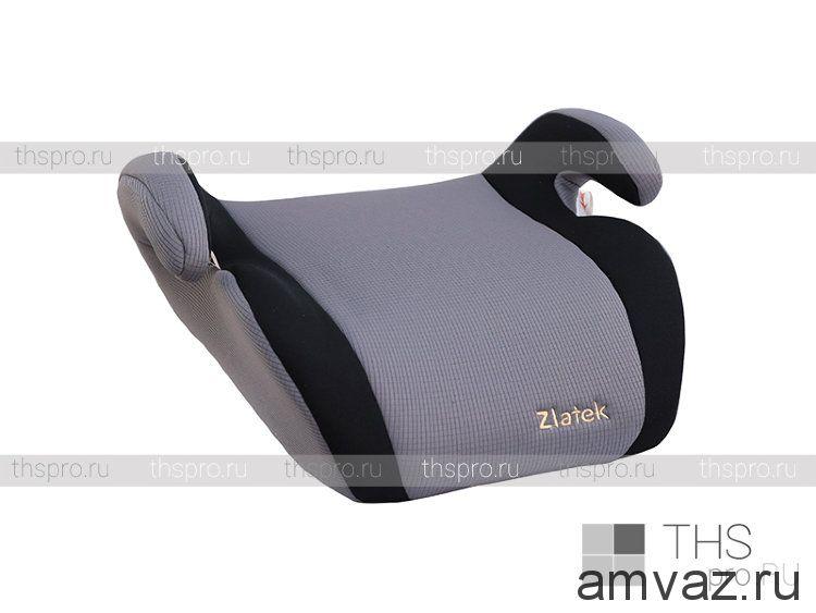 """Детское автомобильное кресло Zlatek - """"Clipper"""" серый, группа 3"""
