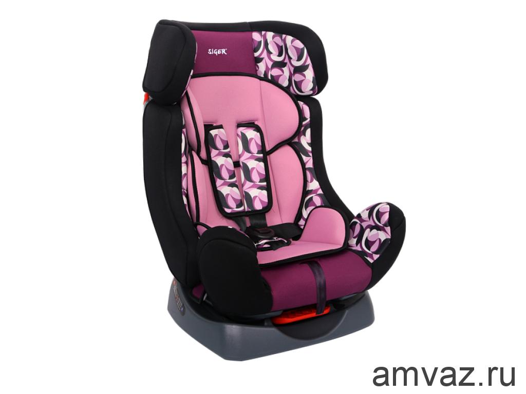 """Детское автомобильное кресло SIGER ART """"Диона"""" абстракция, 0-7 лет, 0-25 кг, группа 0+/1/2"""