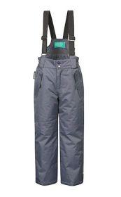 Детские зимние брюки комбинезон