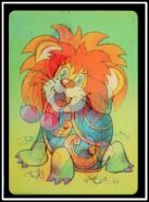 """1984г м-ф """"Как львенок и черепаха пели песню"""". Стерео календарик"""