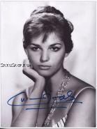 Автограф: Клаудия Кардинале