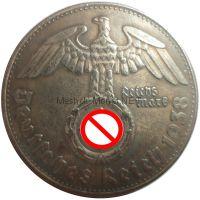 Копия 1 марка 1938 года Адольф Гитлер