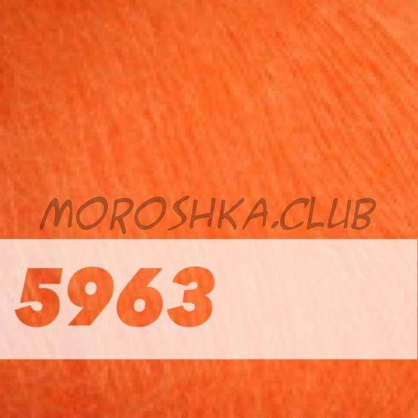Оранжевый Mohair Royal (цвет 5963)
