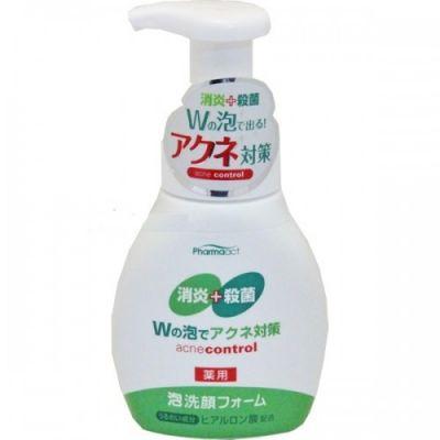 Японская пенка для умывания против черных точек (противовоспалительная)  Pharmaact KUMANO COSMETICS