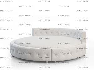 Кровать круглая Амстердам 1012.МО б/о