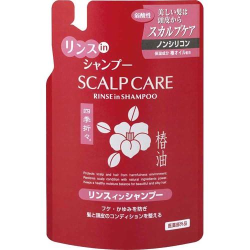 Японский шампунь-кондиционер 2в1 с маслом белой камелии Shiki-Oriori для сухих и поврежденных волос в ассортименте