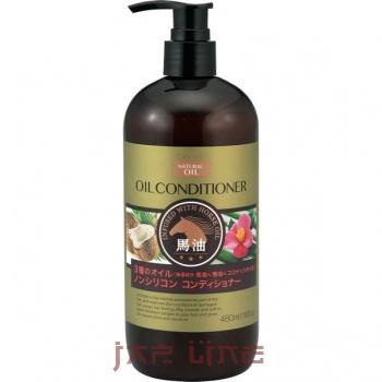 Японский Кондиционер для сухих волос с 3 видами масел (лошадиное, кокосовое и масло камелии) БЕЗ СИЛИКОНА DEVE